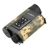 Multifuctional 6X32 500m Outdoor Hunting Range Finder Digital Infrared IR Night Vision Device Monocular Scope Telescope Rangefinder Digital Compass