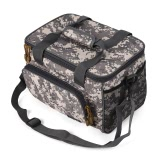 Portable Multifunctional Canvas Fishing Shoulder Bag