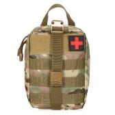 Lixada屋外MOLLE医療用ポーチ応急処置キットユーティリティバッグ緊急サバイバルファーストレスポンダーメディックバッグ