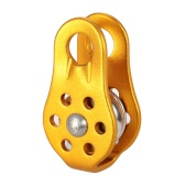 Lixada 20KN Fixed Single Pulley Rock Climbing Rescue