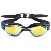 収納ケース付き大人メンズレディース電気メッキミラーコーティング防曇UVカット水着水泳ゴーグルスポーツスイムゴーグルメガネメガネ