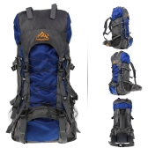 55 L アウトドア スポーツ バックパック ナップザックを登山旅行防水パック登山キャンプ トレッキング バッグをハイキング