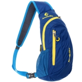 Outdoor Cycling Sling Bag Lightweight Water-resistant Chest Bag Unisex Shoulder Backpack Fashionable Leisure