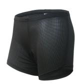 自転車乗って下着ショーツ パンツ通気性のある快適なパッド入り Arsuxeo ブリーフ ユニセックス