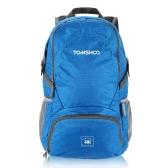 TOMSHOO 30L Ultra Lightweight Water-resistant Nylon Outdoor Backpack Travel Trekking Foldable Bag