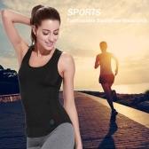 Lixada Women Sleeveless Racerback Sports Shirt for Yoga Running Gym Fashionable Yoga Vest