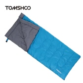 TOMSHOO 200X80CM Thermal Adult Outdoor Envelope Sleeping Bag Camping Travel Hiking Multifunction Thick 1.5kg 5-15℃