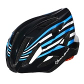 ROCKBROS Rechargeable 18 Integrated Flow Vents Road Bike MTB Protective In-mold Helmet with Tail Light 3 Modes 6 Colors