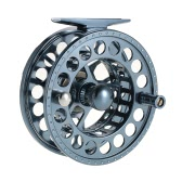 2+1BB Fly Fishing Reel Ultralight with Hand Conversion Fishing Gear Tackle Aluminum CNC Frame Metal Spare Spool