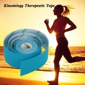 5M*5CM Breathable Elastic Cotton Kinesiology Tape Roll Sports Muscle Tape Adhesive Knee Muscles Care Bandage Tape Strap Fitness Strain Injury Support Guard for Knees Shoulders Elbows
