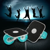 Portable Drift Skate Board with Aluminum Pedal and PU Wheels