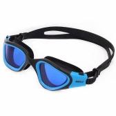Adult Men's Women's Polarized Anti-fog UV-protection Mirrored Coating Swimwear Swimming Goggles Sports Swim Goggles Eyewear Glasses with Storage Case