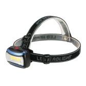 キャンプサイクリングのための屋外の軽量LEDヘッドライト懐中電灯ヘッドライトランプトーチ180度スイベルヘッドは、犬の散歩を実行します