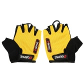 QEPAE Non-Slip Gel Pad Gloves Men
