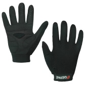 QEPAE Full Finger Gloves Sports Breathable Riding Cycling Gloves Shock Absorbent Wear-resistant
