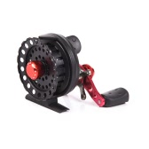 4 + 1BB 2.6:1 64MM Fly Fishing Reel Wheel Fishing Reels Left/Right Hand Raft Fishing Vessel Wheel Right Hand Fish Wheel Fishing Tool
