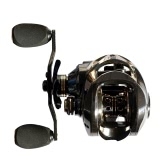 17+1 Ball Bearings Carbon Baitcasting Fishing Reel 7.0:1 Bait Casting Reels Left / Right Hand Fishing Reel with One Way Clutch Baitcasting Reel