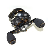 17+1 Ball Bearings Baitcasting Fishing Reel 7.0:1 Bait Casting Reels Left / Right Hand Fishing Reel with One Way Clutch Baitcasting Reel