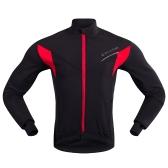 メンズロングスリーブサイクリングジャージー冬屋外スポーツ防風MTB自転車自転車コートジャケット