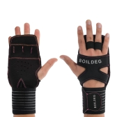 Cross Training Gloves with Wrist Support Wrist Wrap Fitness Gloves for Fitness Weightlifting Powerlifting Suits Men and Women