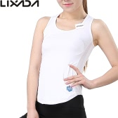Lixada Women Sleeveless Racerback Sports Shirt for Yoga Running Gym Fashionable Yoga Vest