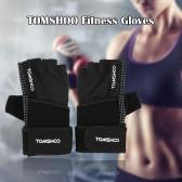 通気性の快適な手首ラップ滑り止めグリップデザインと手袋フィットネス手袋リフティングTOMSHOOユニセックス重量