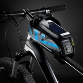 "ROCKBROS Water-resistant Cycling Bicycle Bike Top Front Tube Frame Bag Water Resistant Touchscreen Phone Holder Case for 5.8""/6.0"" Smartphone"