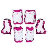 6PCS/Set 3 in 1 Kids' Skating Protective Gear Set Knee and Elbow Pads Bicycle Skateboard Ice Skating Roller Knee Protector