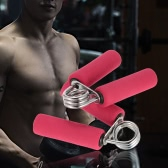 25KG Foam Handle Hand Gripper Grips Arm Muscle Builder Wrist Strengthener Hand Exercisers with Soft Foam Handles Hand Strengtheners
