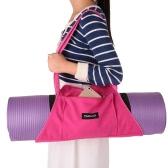 TOMSHOOヨガマットキャリア運動ヨガマットバッグジムフィットネススポーツワークアウトのためのショルダーバッグ