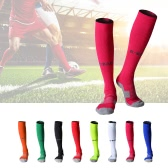 1 Pair of Non-slip Footbed Football Socks