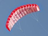 アウトドア スポーツ デュアル ライン パラフォイル凧 1.4 m 電源ソフト スタントカイト ハンドル 30 m ラインと
