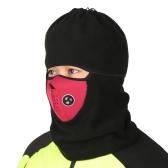 Thermal Neck Warmers Fleece Balaclavas Hat Winter Windproof Face Mask for Outdoor Activities