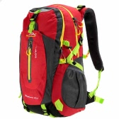 40L Water-resistant Breathable Shoulder Backpack Outdoor Traveling Hiking Mountaineering Unisex Backpack Daypack