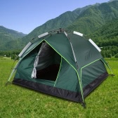 Docooler Automatic Tent Water-resistant Two-layer Double Door Tent 3 Person Leisure Tent 200 * 200 * 140cm