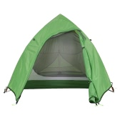 Naturehike Double Layer 1-2 Person 3 Season Aluminum Rod Double Skylight Outdoor Camping Tent Aluminum Poles Tent