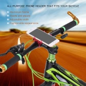 "GUB Aluminum Alloy Bicycle Bike All-purpose Phone Holder Handbar Clip Stand Mount Bracket for 3.5""-6.2"" Mobile Phone for Android for iPhone"