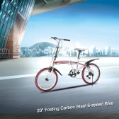 "Lixada 20"" 6-speed Folding Bicycle"