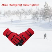 Cycling Gloves Winter Warm Outdoor Anti-slip Thick Women Man Gloves
