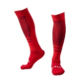 ​1 Pair of Breathable Wicking Wear Resistant Knee High Soccer Football Socks Compression Striped Socks Cotton Socks
