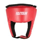 ボクシングのトレーニングヘッドギアヘッドガード格闘技スパーリングヘルメットギアフェイスヘッドプロテクターキック