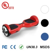 CHIC 6.5 inch 2 Wheels Self Balancing Smart Electric Scooter-Red