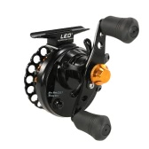 ​4+1 BB Ball Bearing 2.8:1 Gear Ratio Raft Fishing Reel Fly Reel Wheel Right/Left Hand Ice Fishing Reel Smooth Release Star Drag Fishing Tackles with Storage Pouch