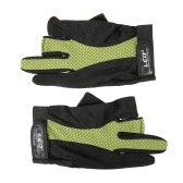 1 Pair 3 Fingerless Gloves Anti-slip Breathable Lightweight Fishing Gloves Outdoor Sports Cycling Camping Running