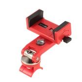 クイックアタッチ自転車電話ホルダーコンパス90°回転可能304ステンレススチールiPhone7 / 6sプラス/サムスンS7 / S6用3.0-6.3inユニバーサルクレードルに対応