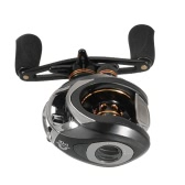 Lixada Baitcasting Fishing Reel 10+1 Ball Bearings 6.3:1 Gear Ratio Right/Left Hand Bait Casting Reel Sea Fishing Baitcasting Reel