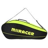 Badminton Racket Bag Tennis Racquet Bag Racket Storage Bag Holder for 3 Racquets