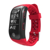 IP68防水スポーツスマートブレスレットBT GPS防水リストバンドストラップ歩数計フィットネストラッカー心拍数モニター