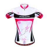 Women Breathable Outdoor Short Sleeve MTB Cycling Jersey