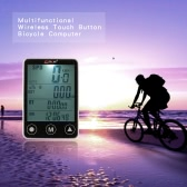 Multifunctional Wireless Touch Button LCD Bicycle Computer Odometer Speedometer